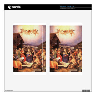 Worship_of_the_shepherds_by_bronzino Skins For Kindle Fire