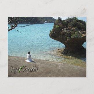 Worship Postcard postcard