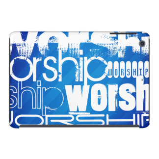 Worship; Royal Blue Stripes iPad Mini Retina Case