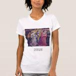 Worshipers Angels By Gozzoli Benozzo Tee Shirt