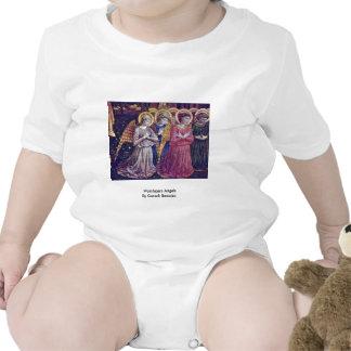 Worshipers Angels By Gozzoli Benozzo T Shirts