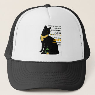 Worshipped Cats Trucker Hat