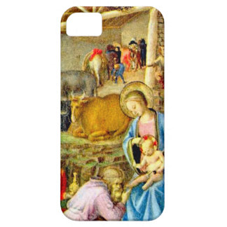 Worshipping the Christ child iPhone 5 Cases