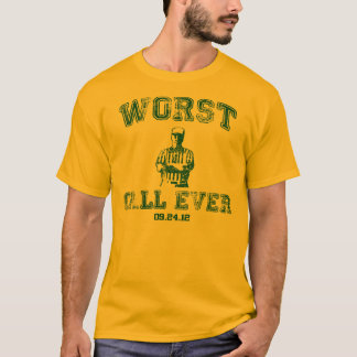 Worst Call Ever - Gold T-Shirt