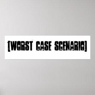 [Worst Case Scenario] Posters