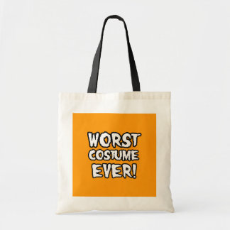 WORST COSTUME EVER - Halloween -.png Canvas Bag