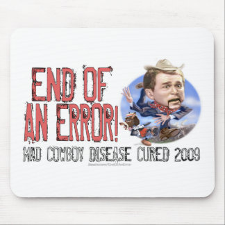 Worst Ever President Anti Bush Gear Mouse Pad