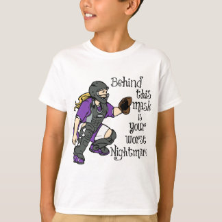 Worst Nightmare, purple T-Shirt