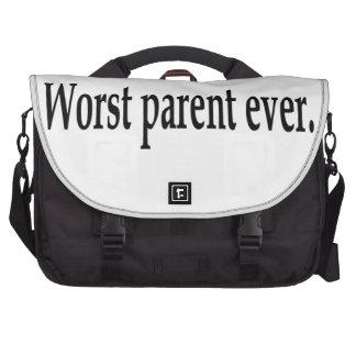 Worst parent ever. laptop computer bag