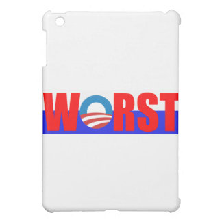 Worst President Anti Obama Cover For The iPad Mini