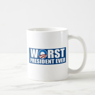Worst President Ever Classic White Coffee Mug