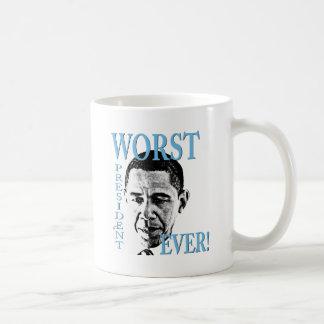 Worst President Ever! Classic White Coffee Mug