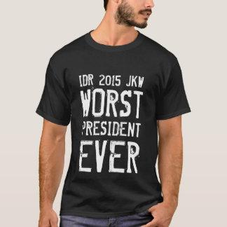 Worst President Ever JOKOWI T-Shirt