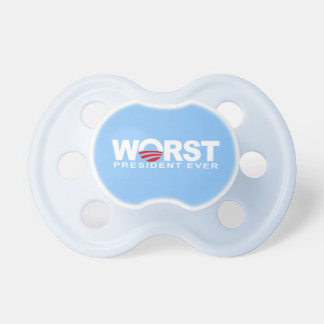 Worst President Ever BooginHead Pacifier