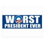Worst President Ever Postcards