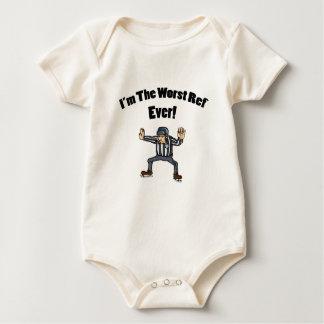 Worst Ref Ever Baby Bodysuit