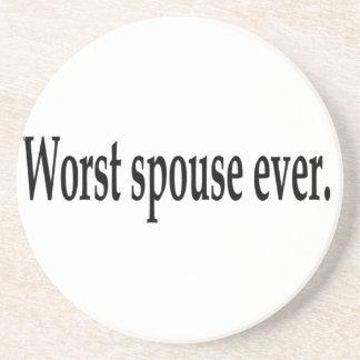 Worst spouse ever. coaster