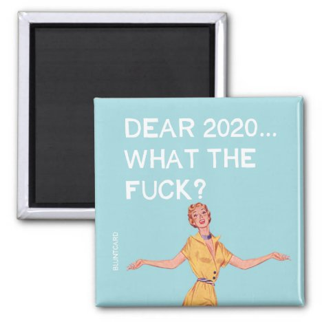 Worst year ever! magnet
