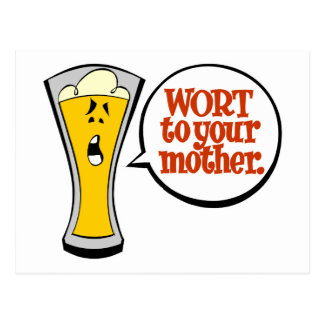 Wort to Your Mother Postcard