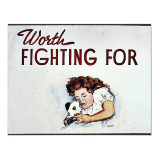 Worth Fighting For Card