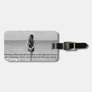 Worth it luggage tag