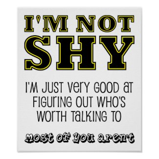 Worth Talking To Funny Poster