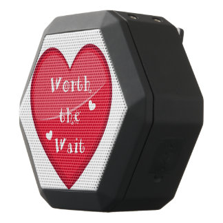 Worth the Wait - Adoption - New Baby Black Bluetooth Speaker
