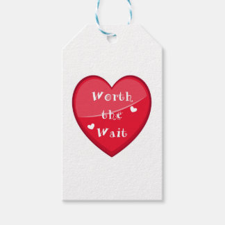 Worth the Wait - Adoption - New Baby Gift Tags