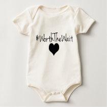 Worth The Wait Baby Onsie Baby Bodysuit