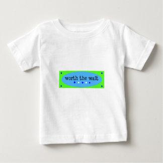 Worth the Wait Blue Infant T-shirt