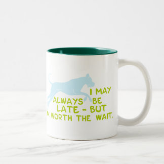 worth the WAIT Two-Tone Coffee Mug