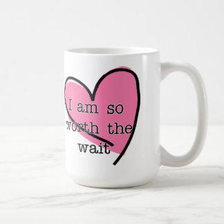 Worth The Wait Valentine's Day Mug