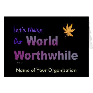 Worth-World Card