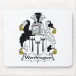 Worthington Family Crest Mouse Pad