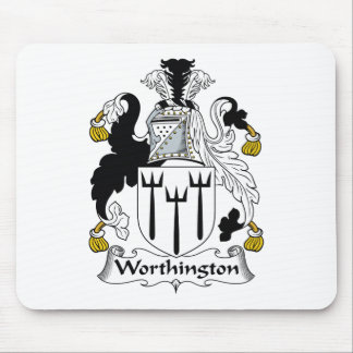 Worthington Family Crest Mouse Pad