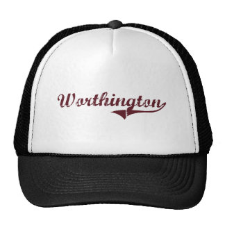 Worthington Minnesota Classic Design Mesh Hats