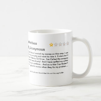 Worthless, Useless coffee mugs