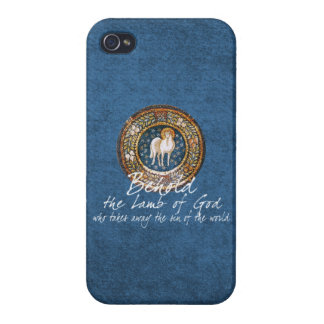 Worthy is the Lamb Christian Religious Icon Cover For iPhone 4
