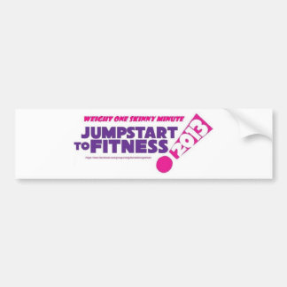 WOSM Weight One Skinny Minute Bumper Sticker