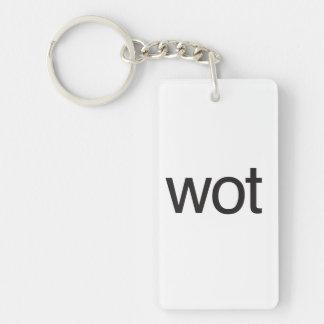 wot.ai key chain