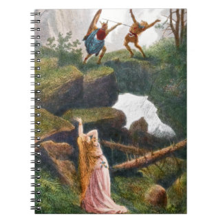 Wotan and Hunding, Notebook