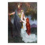 Wotan & Brunhilde Notecard Stationery Note Card