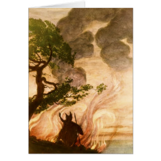 Wotan Notecard Stationery Note Card