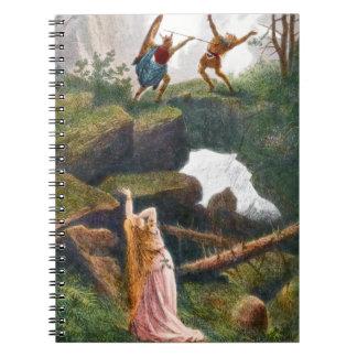 Wotan y Hunding cuaderno