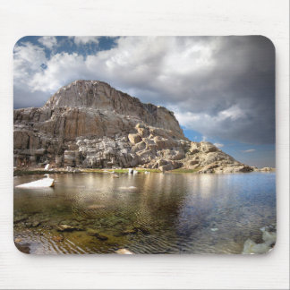 Wotans Throne Over Trail Camp Lake 2 - Mt Whitney Mouse Pad