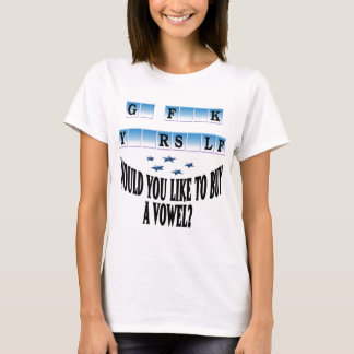 Woul you like to buy a vowel? T-Shirt