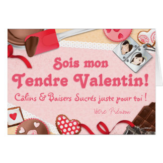 Would be my Tender Valentine! Sweetened cuddles & Card