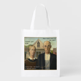 Would Grant Wood Grocery Bag