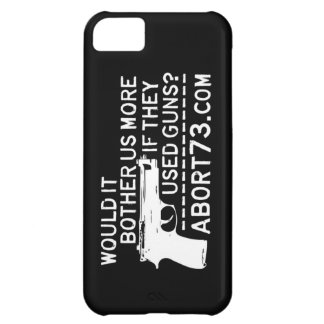 Would it Bother Us More if They Used Guns? Abort73 Case For iPhone 5C