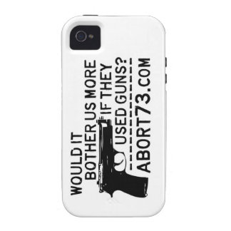 Would it Bother Us More if They Used Guns? Abort73 Case-Mate iPhone 4 Cover
